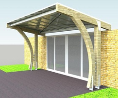 CAD render of the canopy