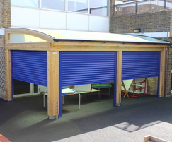 Innovative roller-shutters add more security