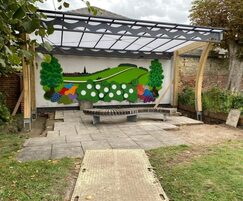 Standout bespoke canopy for Newmarket Town Council