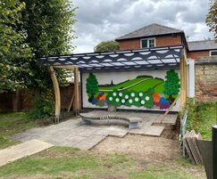 Bespoke canopy for Newmarket Town Council