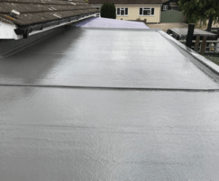 Fibreglass roofing lining