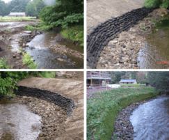 SSSI, EA-led, geogrid & hydroseeded