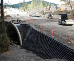 Flex MSE stabilises highway bank