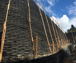15m high retaining wall from Flex MSE