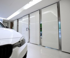 The walls can be supplied in a wide range of finishes