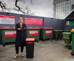 Interior bins as part of wider  sustainability plan