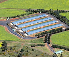 Bio-Oxygen systems were installed at this poultry farm