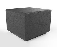 Rossa concrete cube seat - dark