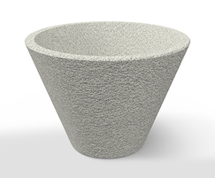 Whitecity plant pot