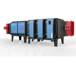 Electrostatic precipitator for industrial flue gas