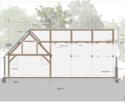 Work is direct with clients or from architects drawings
