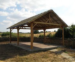 Roundwood Design manufactures bespoke timber structures