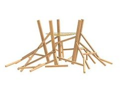 Log Climbing Frame No.4 - product code CL.2.04