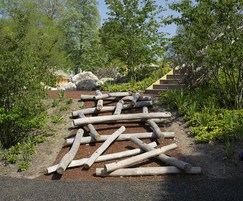 Log Scramble complements natural play areas