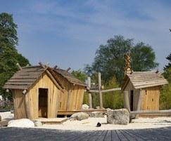 Create engaging play spaces with multiple huts