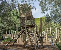 Robinia Climbing Frame No.4 for children aged 6+ years