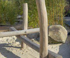 Stilted Balance Beams