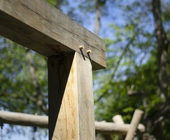 Oak posts and uprights