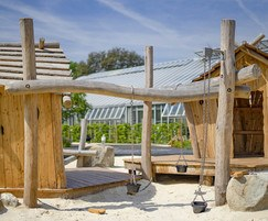 Timber Beams & Buckets for children aged 2+ years