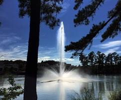 Celestial Aquarius floating lake water fountain