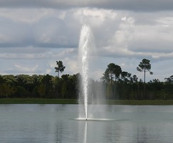 Celestial Leo floating lake water fountain