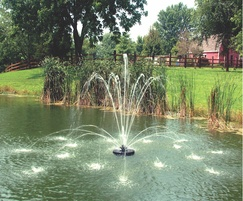 Evolution Tiara floating pond fountain
