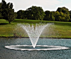 Masters Series Turnberry floating lake water fountain