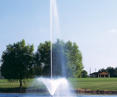 Titan Series Flare & Sky Geyser floating lake fountain