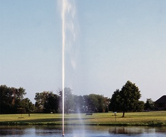 Titan Series Sky Geyser floating lake fountain