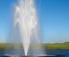 Titan Series Scepter floating lake fountain