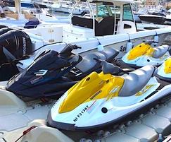RotoDock floating pontoon - jet ski ports