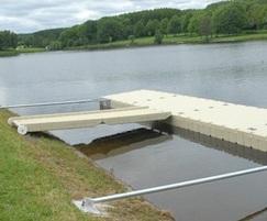 RotoDock floating access pontoon