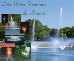 Lake Water fountains