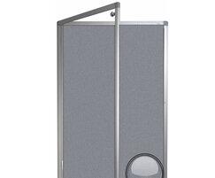 Aluminium Framed Camira Cara Lockable Notice Board.