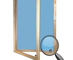 Wooden Framed Camira Lucia Tamperproof Notice Board