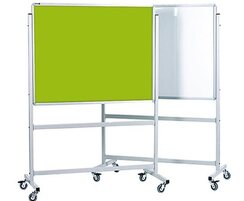 Mobile Whiteboard and Lucia Pin Board