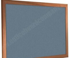 Wood Frame Forbo Notice Board