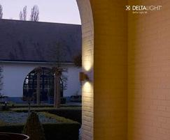 Dox 100W LED contemporary wall light