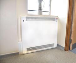 Contour alcove radiator guard