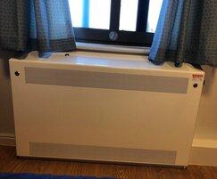 DeepClean™ anti-ligature radiator