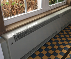 DeepClean™ low surface temperature (LST) radiator cover