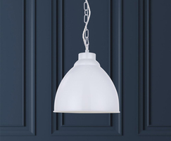 Oxford Vintage Pendant Light - Pure White