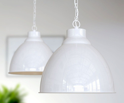 Oxford Pendant Lights - Pure White