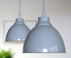 Oxford Pendant Lights - Light French Grey