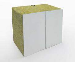Mineral wool sandwich panels