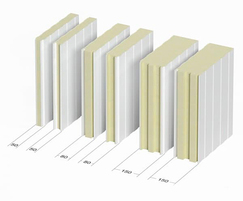 PIR panels available in several widths
