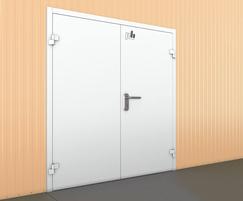 Double Leaf Industrial Door