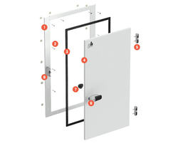 Basic door configuration diagram HSLD PH