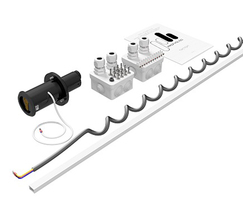PH insulation pin lock for sliding doors with automatic