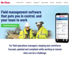 Re Flow field management software